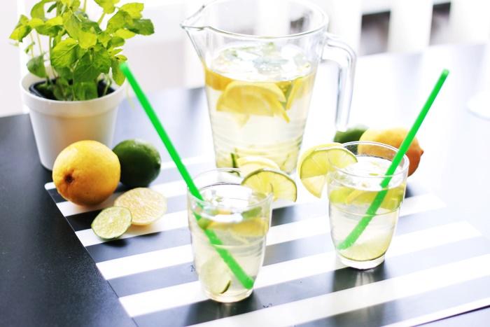 domowa lemoniada na upaly