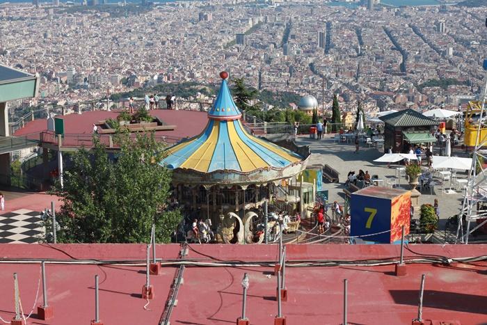 wzgorze tibidabo barcelona