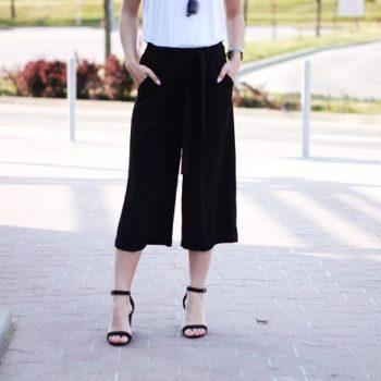 Do czego nosić spodnie culotty?