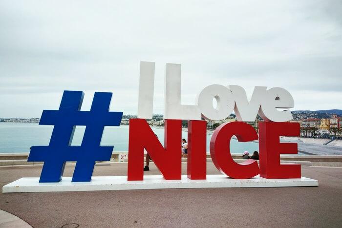 napis i love nice