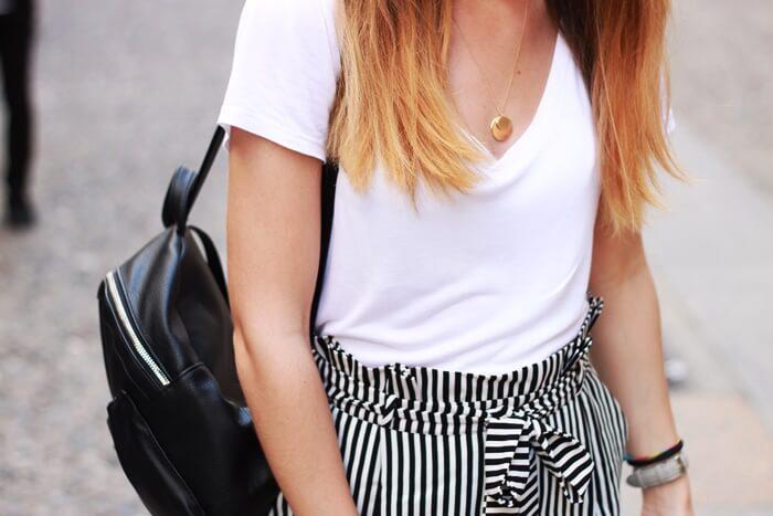 stylizacja spodnie w paski