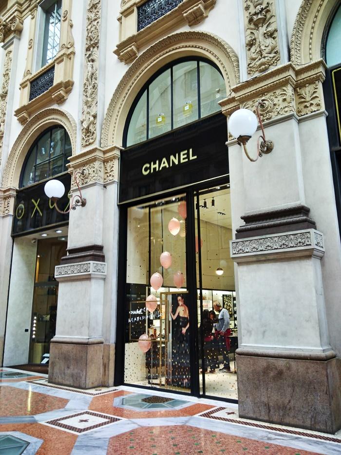 luksusowy butik chanel