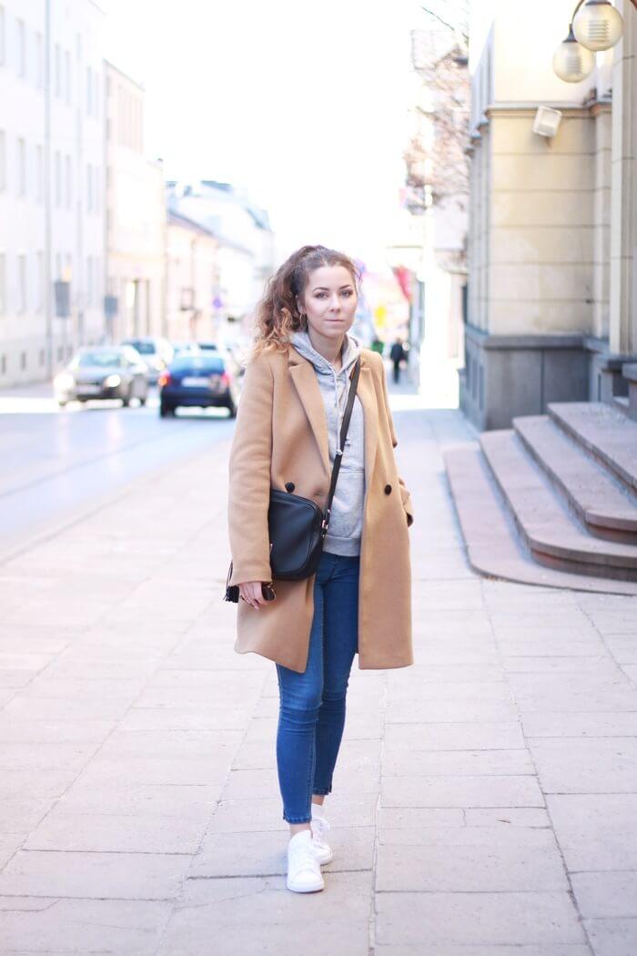 stylizacja zara płaszcz